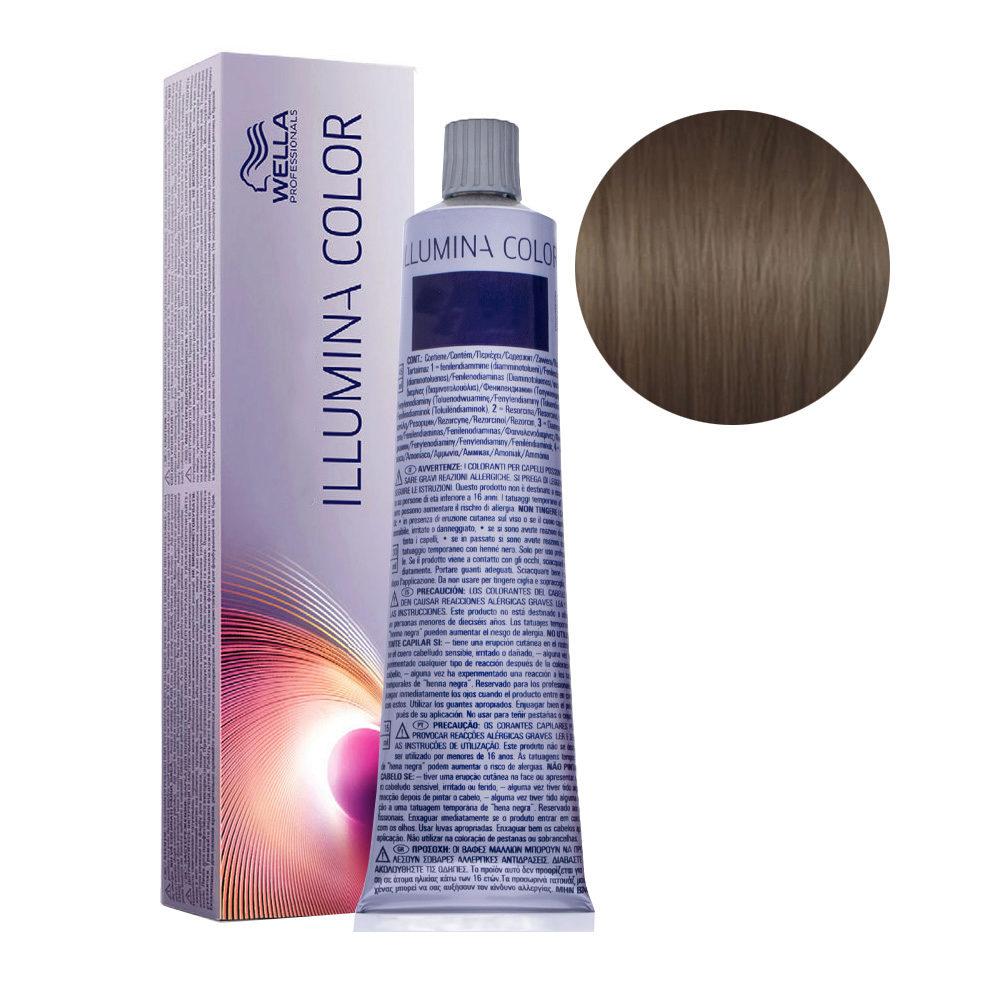 5/81 Light Pearl Ash Brown Wella Illumina Color 60ml