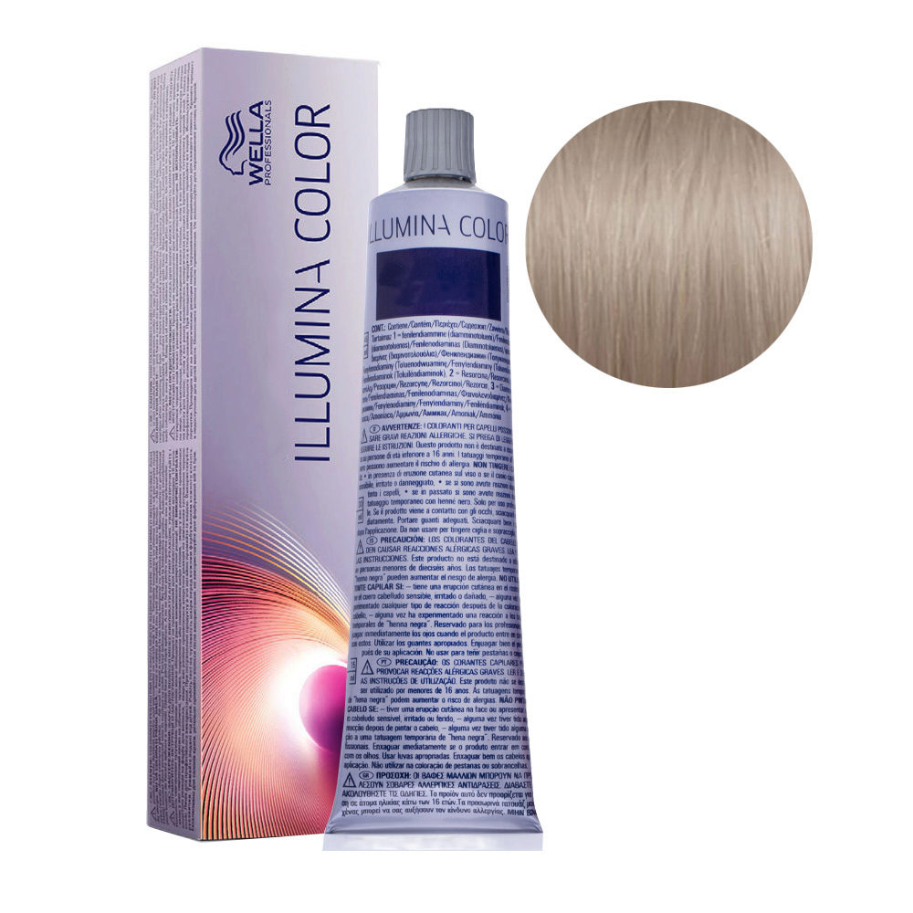 8/69 Light Violet Cendre Blonde Wella Illumina Color 60ml