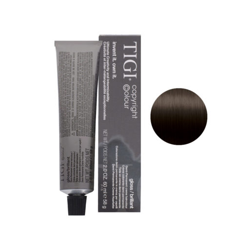 4/88 Intense ash brown Tigi Gloss 60ml