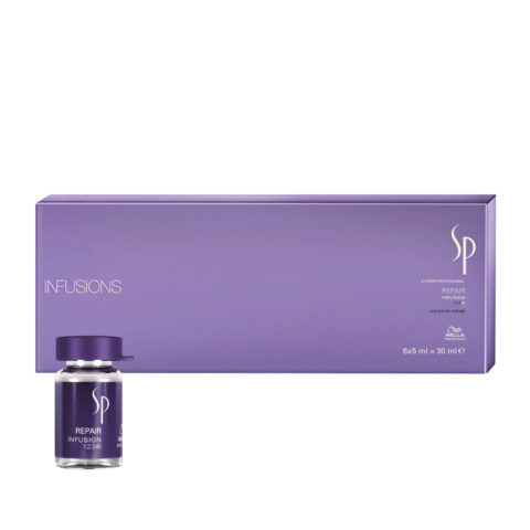 Wella System Professional Repair Infusion 6x5ml - restructuring ampules