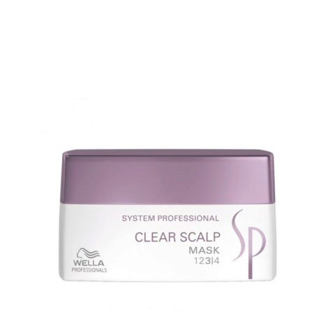 Wella SP Clear Scalp Mask 200ml - antidandruff mask