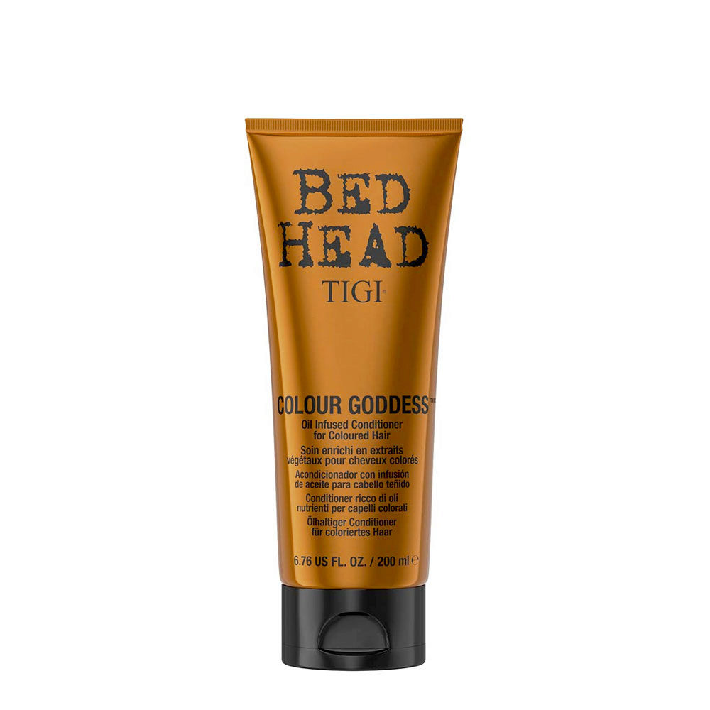 Tigi Bed Head Colour Goddess Oil infused Conditioner 200ml - for coloured hair
