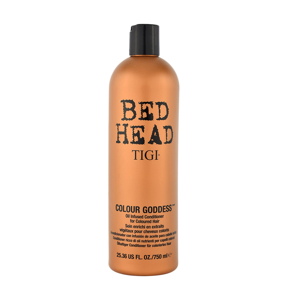 Tigi Bed Head Colour Goddess Oil infused Conditioner 750ml - for coloured hair