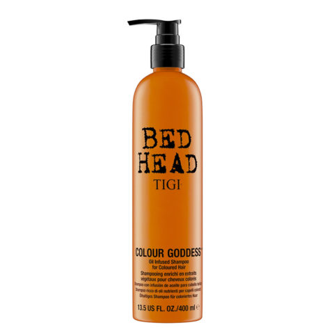 Tigi Bed Head Colour Goddess Oil infused Shampoo 400ml - for coloured hair