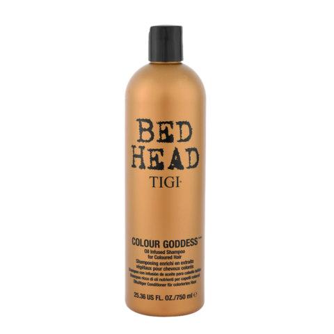 Tigi Bed Head Colour Goddess Oil infused Shampoo 750ml - for coloured hair