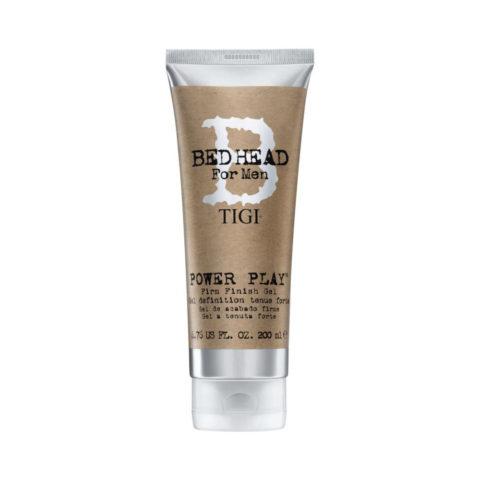TIGI Bed Head Men Power Play Gel 200ml - firm finish gel