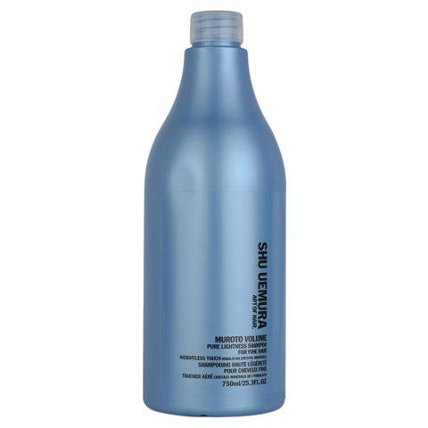 Shu Uemura Muroto Volume Shampoo 750ml - volumizing shampoo