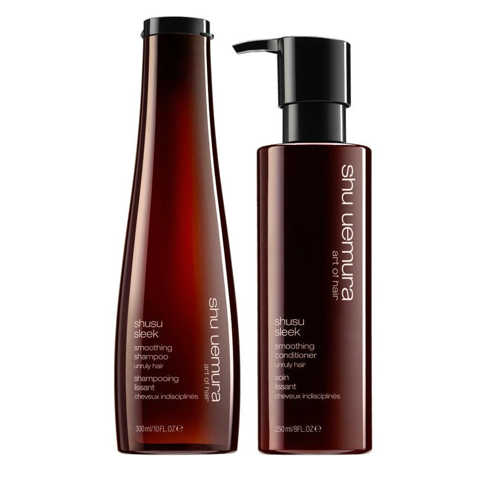 Shu Uemura Shusu Sleek Shampoo 300ml Conditioner 250ml