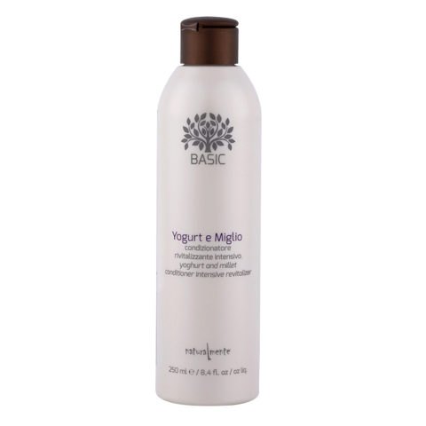 Naturalmente Basic Yoghurt and millet Conditioner intense revitalizer 250ml