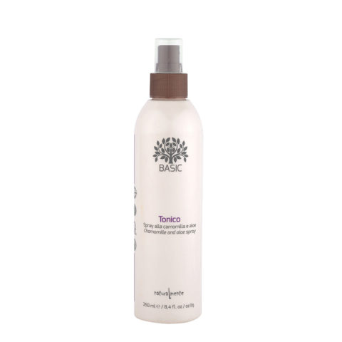Naturalmente Basic Chamomile and Aloe Tonic Spray - detangles and moisturizes 250ml