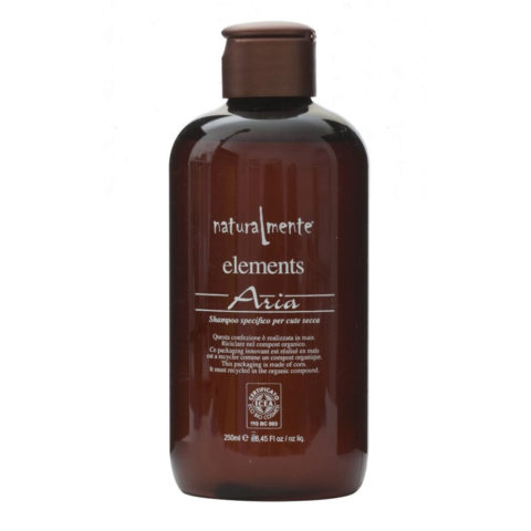 Naturalmente Elements Shampoo aria cute secca 250ml