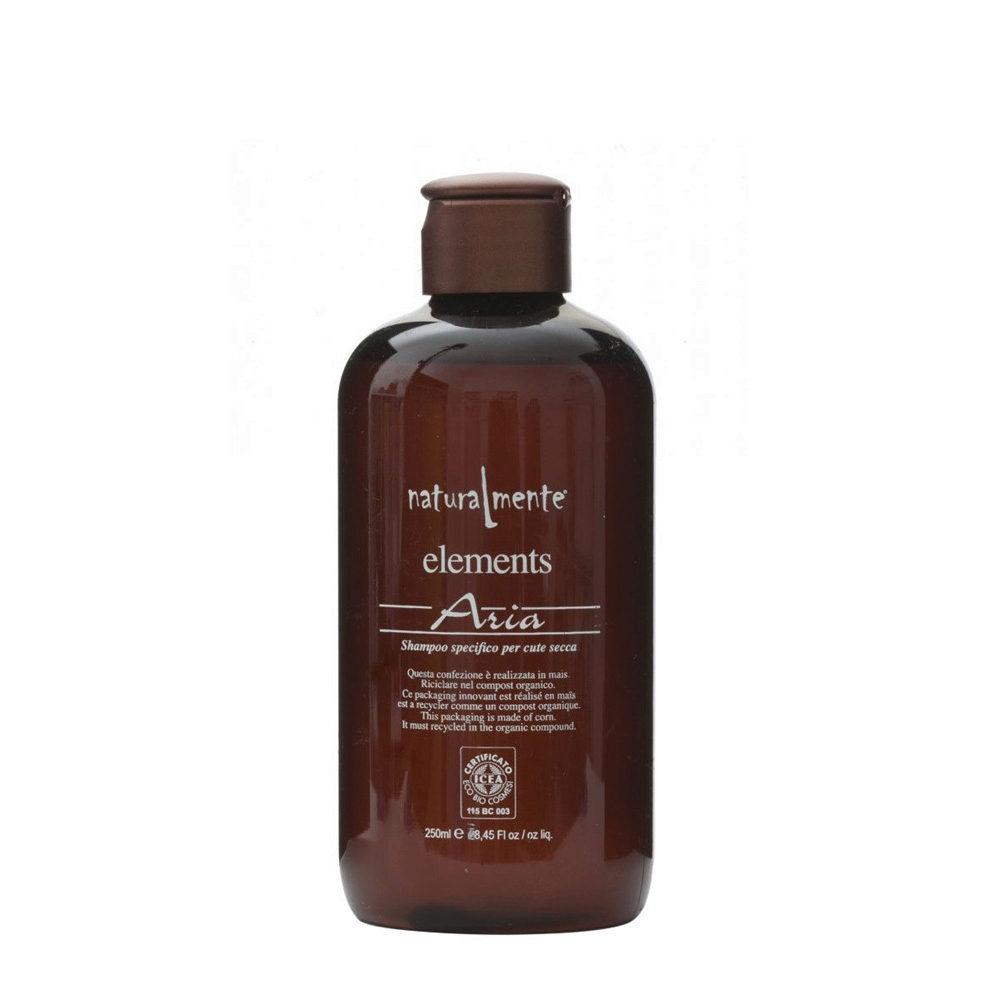 Naturalmente Elements Shampoo aria cute secca 250ml