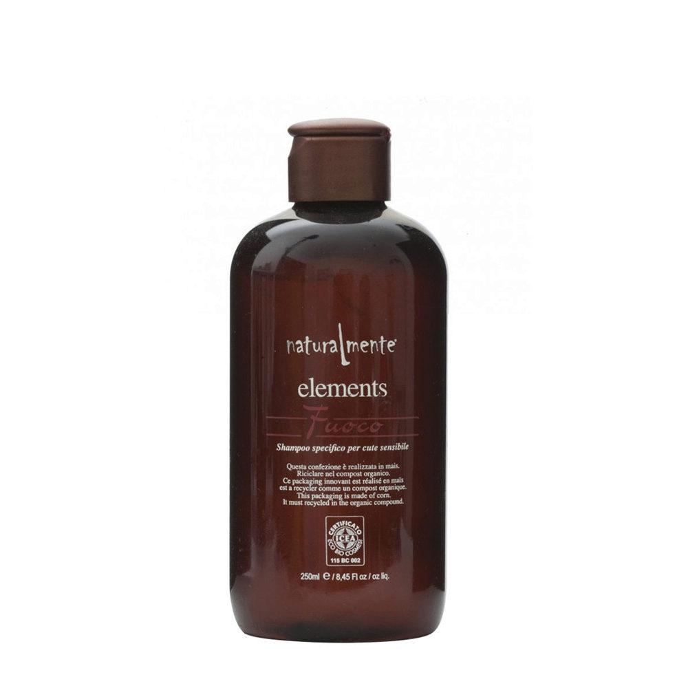 Naturalmente Elements Shampoo fuoco for sensitive Skin 250ml