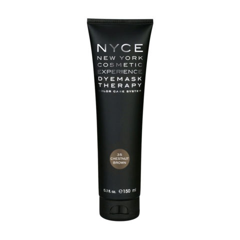 Nyce Dyemask .35 Chestnut brown 150ml - Color Enhancing Mask