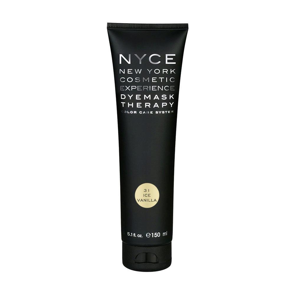 Nyce Dyemask .31 Ice vanilla 150ml - Color Enhancing Mask