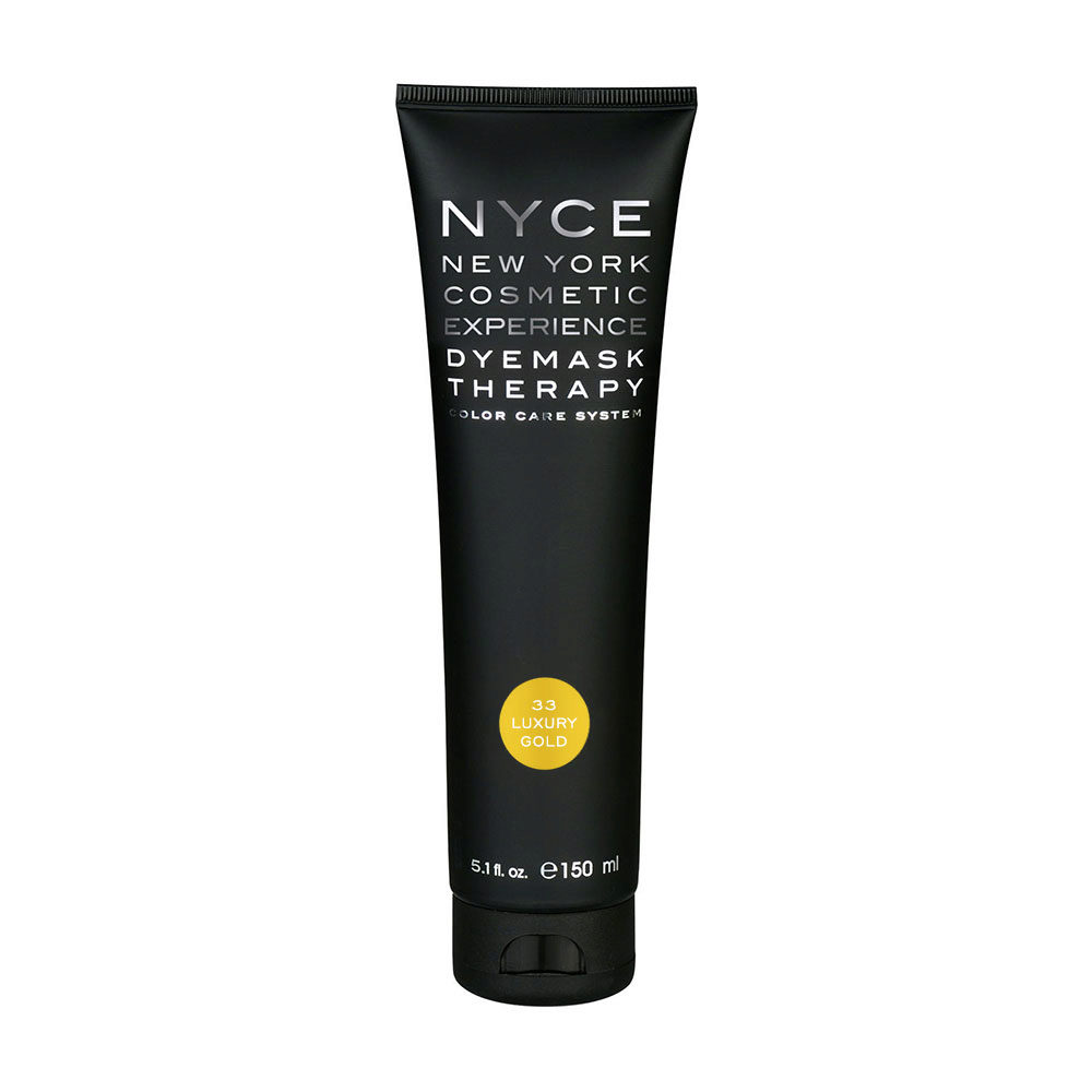Nyce Dyemask .33 Luxury gold 150ml - Color Enhancing Mask