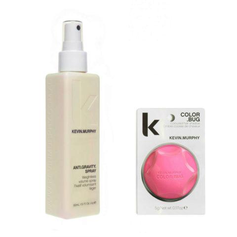 Kevin Murphy Kit Color bug pink 5gr   Anti gravity spray 150ml