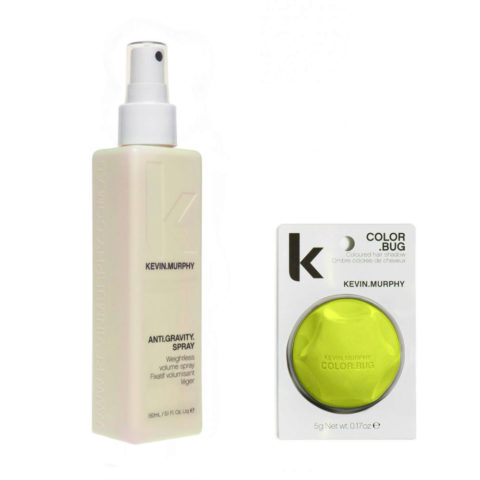 Kevin Murphy Kit Color bug neon yellow 5gr   Anti gravity spray 150ml