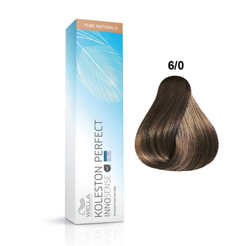 6/0 Dark blonde Wella Koleston Perfect innosense Pure naturals 60ml