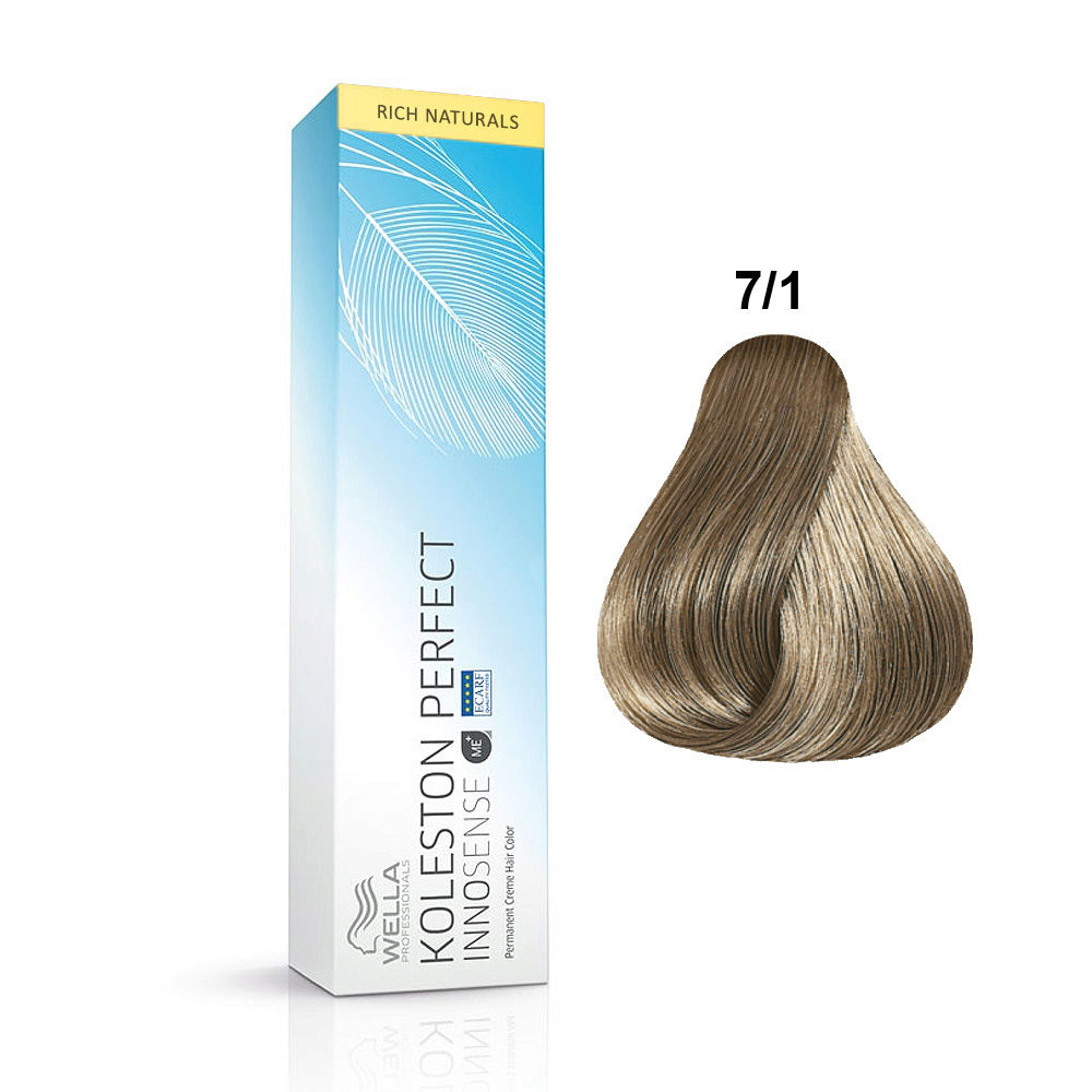 01491cd4f47d 7 1 Mid ash blonde Wella Koleston Perfect innosense Rich naturals 60ml