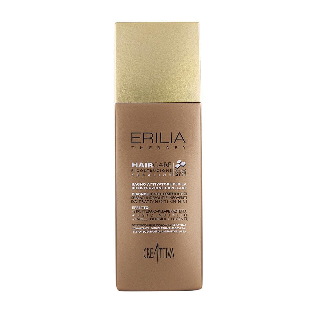 Erilia Haircare Keralink Bagno Attivatore Ricostruzione Capillare 250ml - reconstructing shampoo