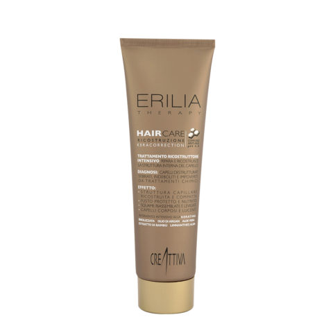Erilia Haircare Trattamento ricostruttore intensivo Keracorrection 300ml - keratin reconstruction Mask