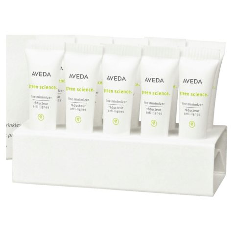 Aveda Skincare Green science line minimizer 10 x 3ml