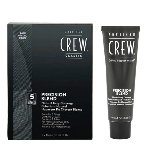 American Crew Classic Precision Blend 2-3 dark 3x40ml
