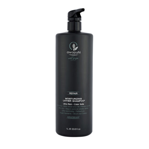Paul Mitchell Awapuhi wild ginger Moisturizing lather shampoo 1000ml