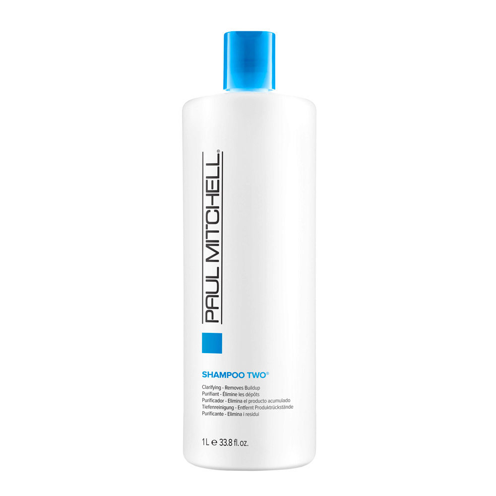Paul Mitchell Clarifying Shampoo two 1000ml - removes buildup