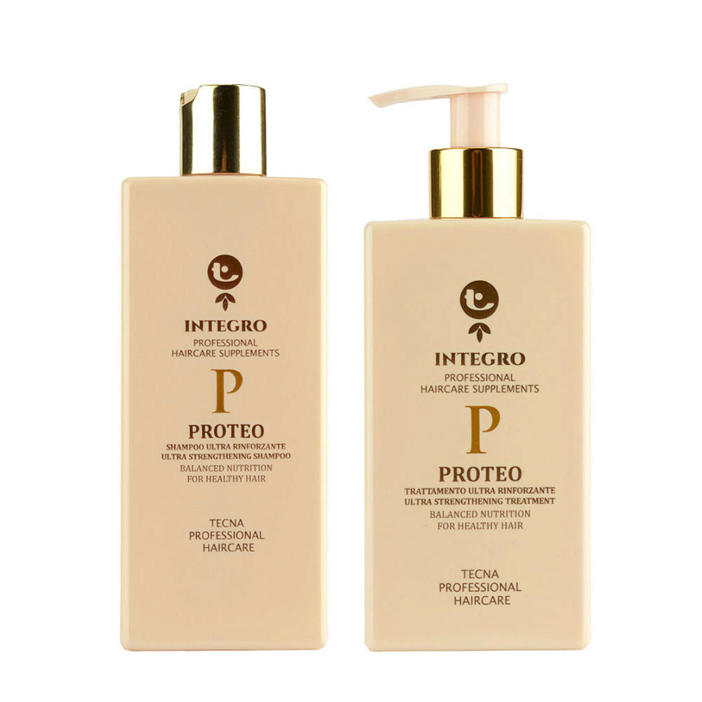 Tecna Integro Proteo Kit Shampoo 250ml Treatment 200ml