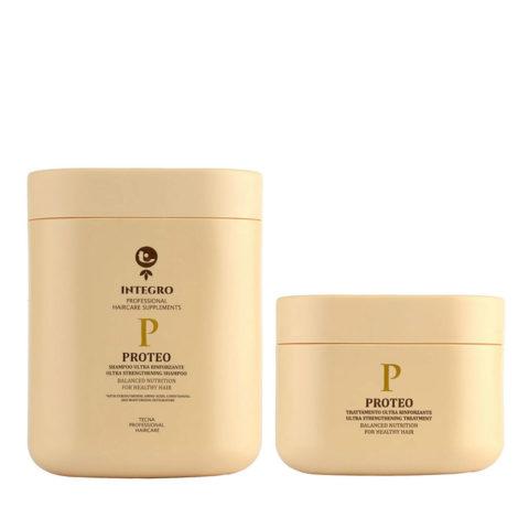 Tecna Integro Proteo Kit Shampoo 1000ml Treatment 500ml