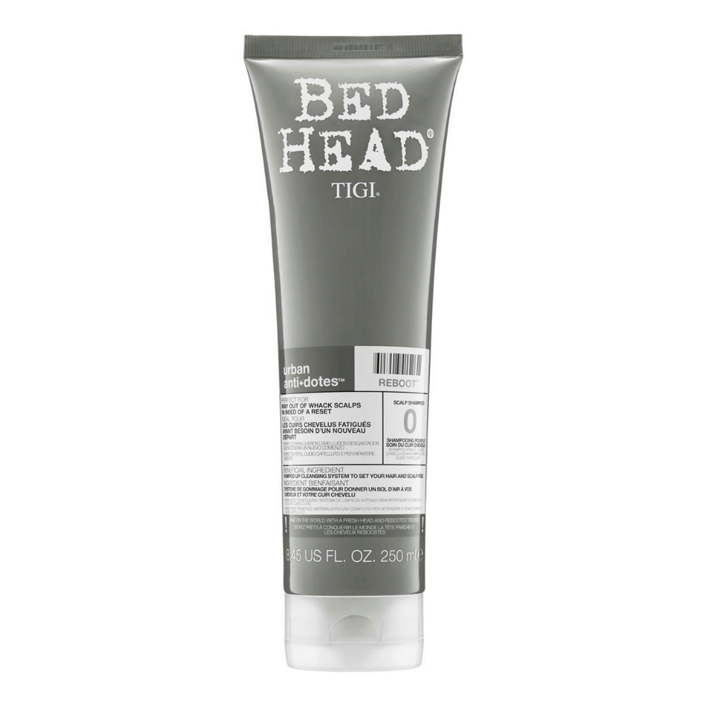 Tigi Bed Head Urban Antidotes 0 Reboot Shampoo 250ml - sensistive scalp