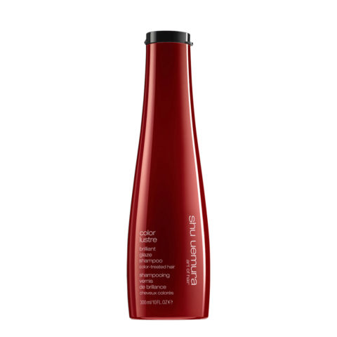 Shu Uemura Color lustre Brilliant glaze shampoo 300ml - shampoo for coloured hair