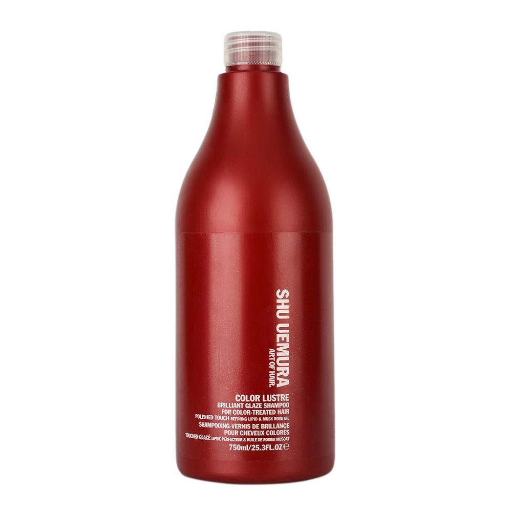 Shu Uemura Color lustre Brilliant glaze shampoo 750ml - shampoo for coloured hair