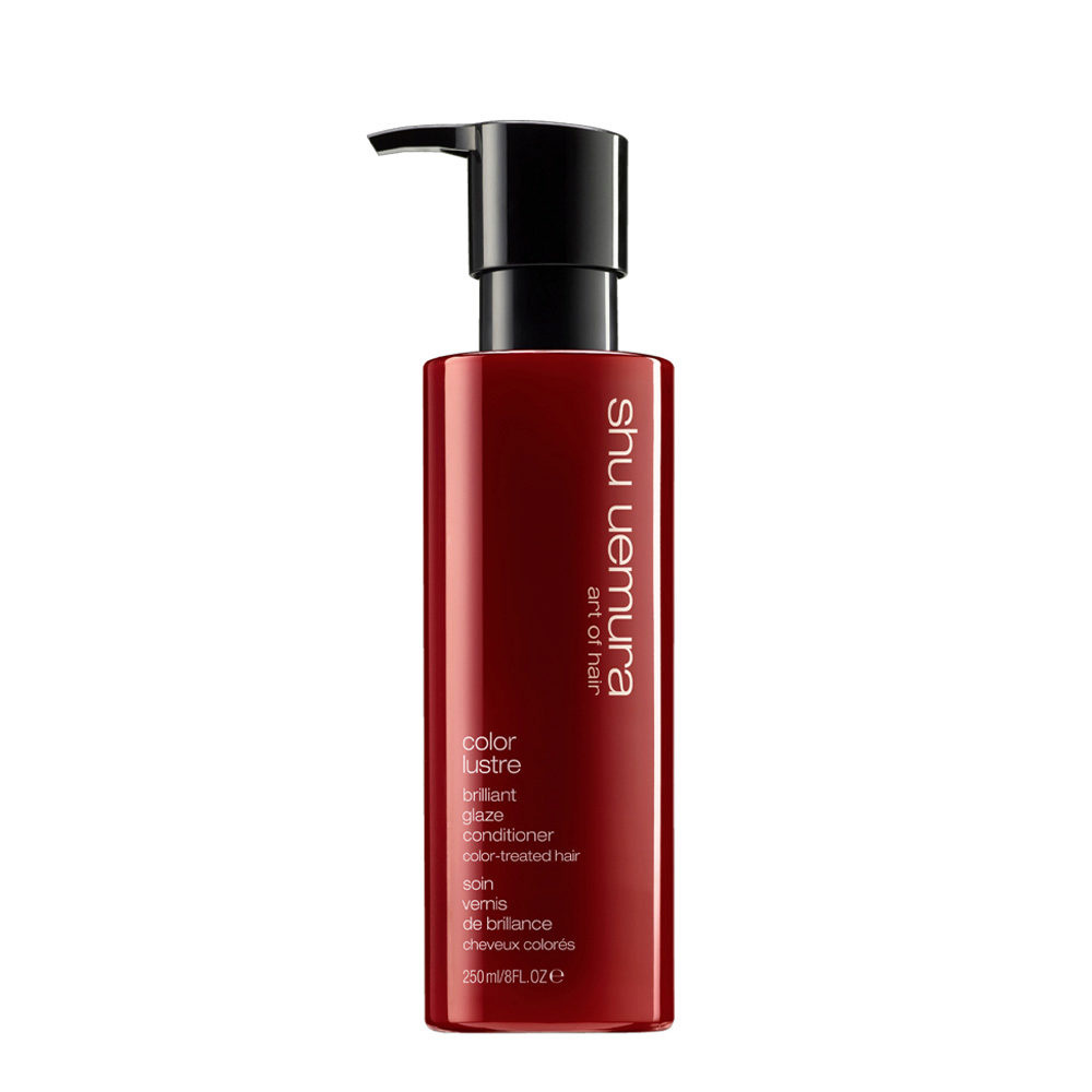 Shu Uemura Color lustre Brilliant glaze conditioner 250ml - coloured hair conditioner