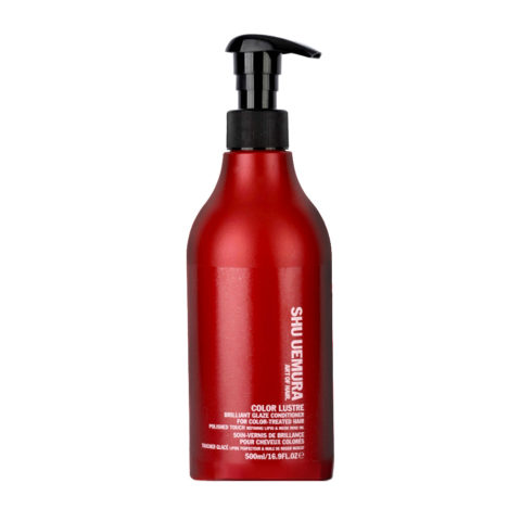 Shu Uemura Color lustre Brilliant glaze conditioner 500ml - coloured hair conditioner