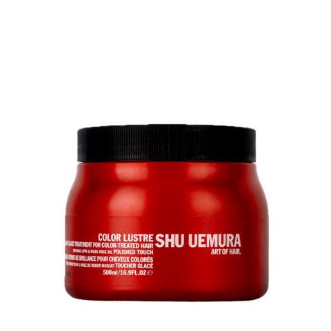 Shu Uemura Color lustre Brilliant glaze treatment masque 500ml - color treated hair