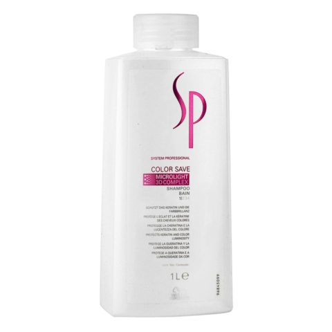 Wella SP Color Save Shampoo 1000ml - coloured hair shampoo