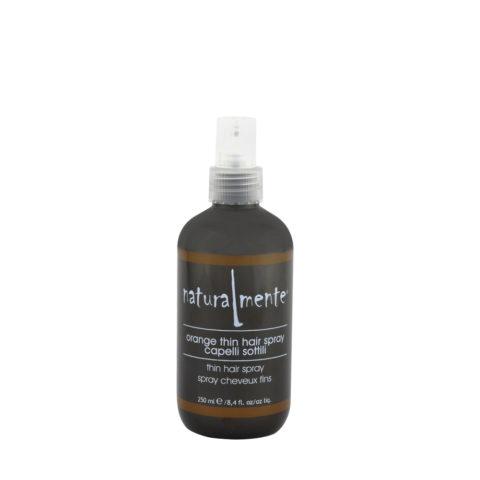 Naturalmente Orange thin hair spray 250ml