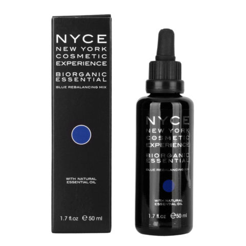 Nyce Biorganic essential Blue rebalancing mix 50ml - Rebalancing essential oil