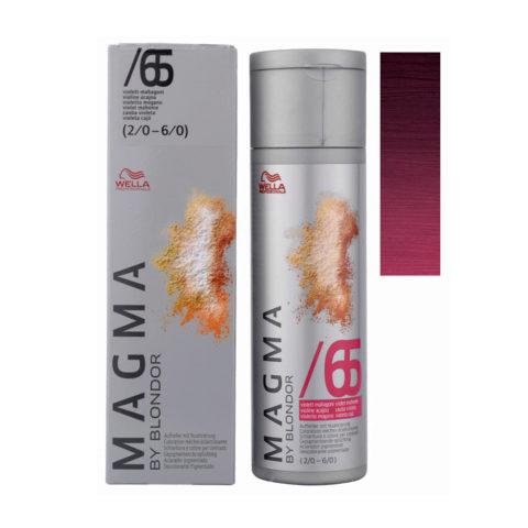 /65 Violet mahogany Wella Magma 120gr