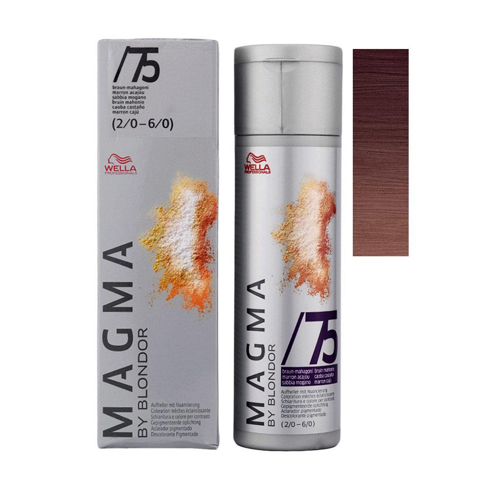 /75 Brown Mahogany Wella Magma 120gr