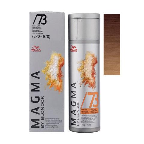 /73 Gold brown Wella Magma 120gr