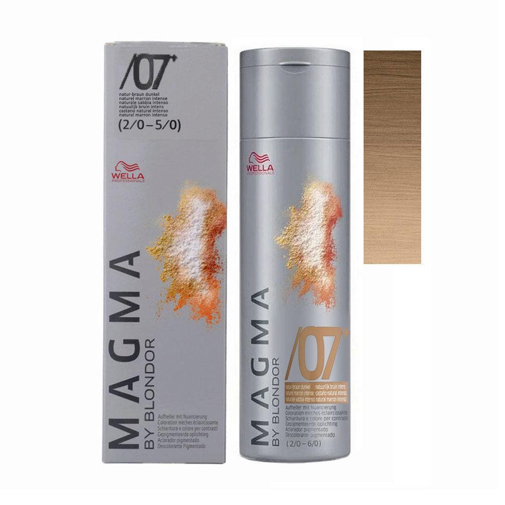 /07+ Natural Brown Intense Wella Magma 120gr