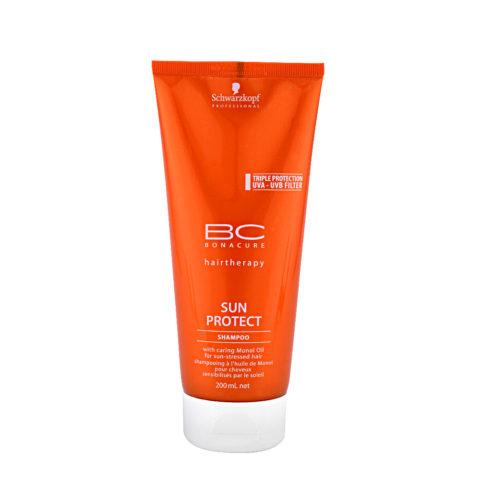 Schwarzkopf BC Bonacure Sun Protect Shampoo 200ml - hydrating sun shampoo