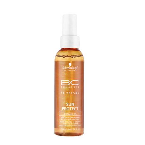 Schwarzkopf BC Bonacure Sun Protect Shimmer Oil Spray 150ml - Solar protective
