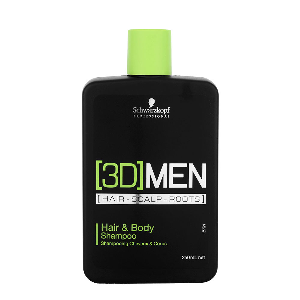 Schwarzkopf [3D]men Care Hair&Body Shampoo 250ml
