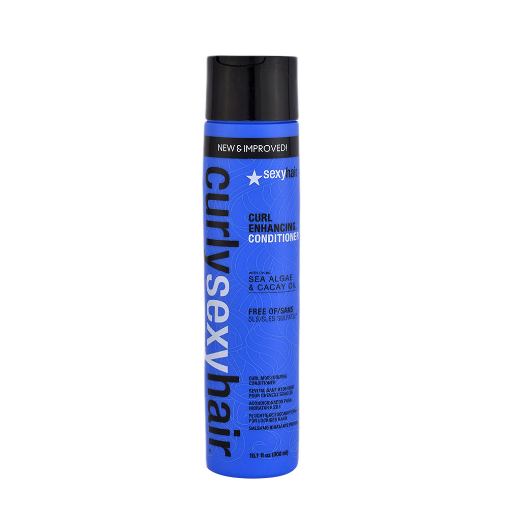 Curly Sexy Hair Curl Enhancing Conditioner with Sea algae & Cacay oil 300ml