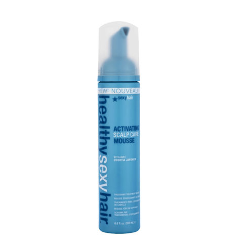 Healthy Sexy Hair Reinvent Activating Scalp Care Mousse 200ml - espuma espesante